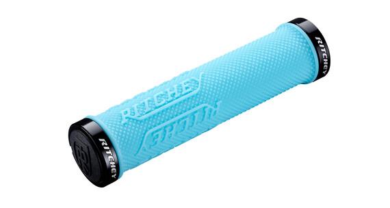 Ritchey WCS True Grip X kädensija Lock-On , sininen/turkoosi